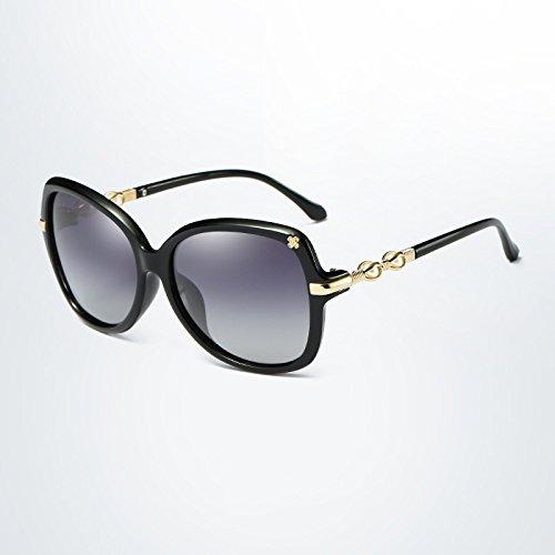 gafas calidad Polarized Mariposa Gafas mujeres moda Ruanyi sol verano para marco marca para de de Oval de adultos alta sol Diseñador de gradiente 2 de HfvqP
