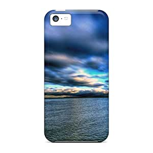 New Gorgeous Clouds Over Sea Tpu Case Cover, Anti-scratch Phone Case For Iphone 5c