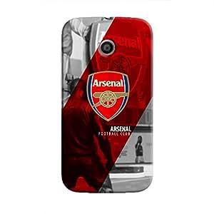 Cover It Up - Arsenal FC Moto E Hard Case