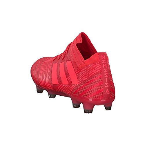 adidas Nemeziz 17.1 FG, Scarpe da Calcio Uomo Rosso (Correa/Rojent/Negbas Reacor/Redzes/Cblack)