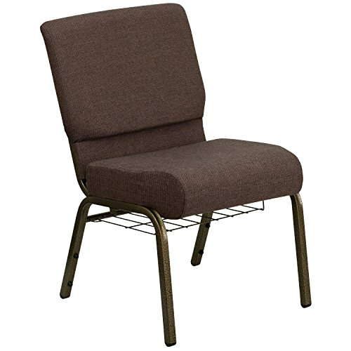HERCULES Series 21'' Extra Wide Church Chair with 4'' Thick