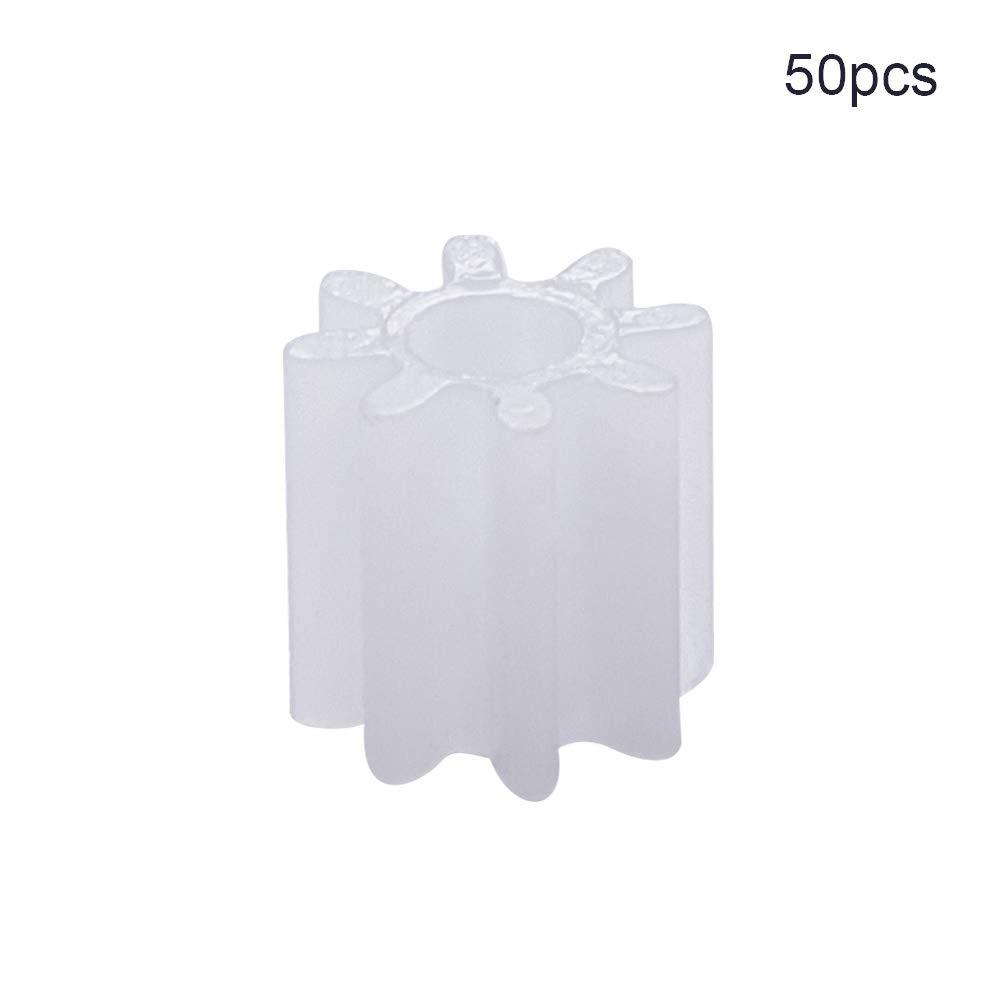 Othmro Plastic Gear 16 Teeth 0.5 Modulus 9 Dia Pulley Belt Shaft Robot Motor Worm Crown Hand DIY Car Toy Kit Hobby 162A Assortment Accessories 50pcs