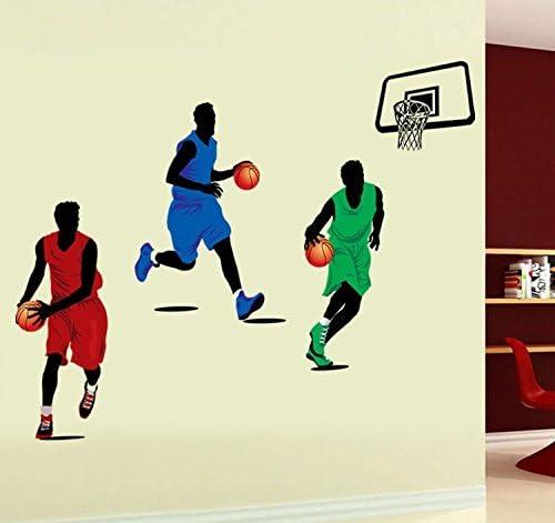 Zooarts Baloncesto Star extraíble vinilo de pared Adhesivos ...
