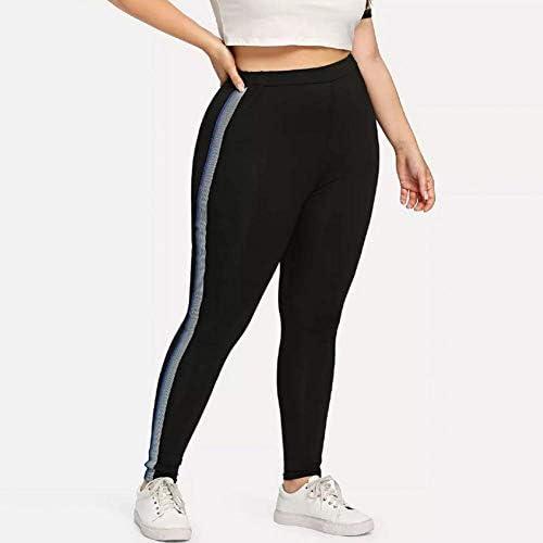 LUOLONG Pantalones De Yoga, De La Mujer De Cinta De Talle Alto ...