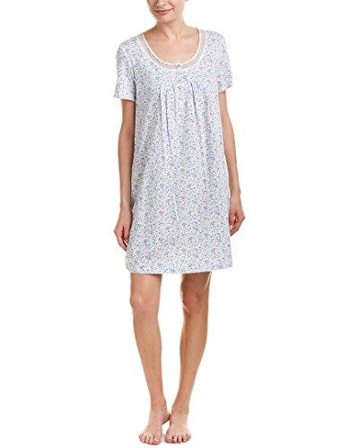 Carole Cotton Sleepshirt - Carole Hochman Women's Soft Jersey Sleepshirt Darling Ditsy Large