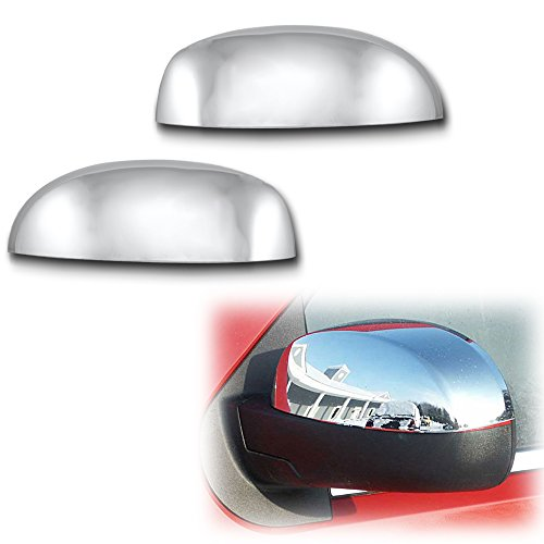 Upper Top Cover - AutoModZone Chrome ABS Side View Mirror Upper Top Half Mirror Cover 2-pc Set for 07-14 Chevy Silverado Suburban Tahoe Avalanche / GMC Sierra Yukon / Cadillac Escalade