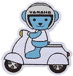 ヤマハ(YAMAHA) ヤマハモーターベア キャラクター グッズ ワッペン Q1G-YSK-291-029