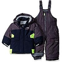 Osh Kosh Boys' Ski Jacket and Snowbib Snowsuit Set