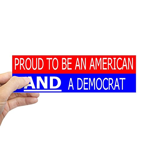CafePress Democrat Rectangle Bumper Sticker