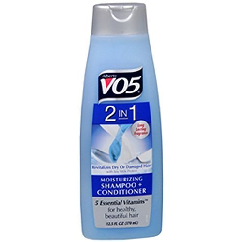VO5 2-in-1 Moisturizing Shampoo and Conditioner Pack of 4 ()