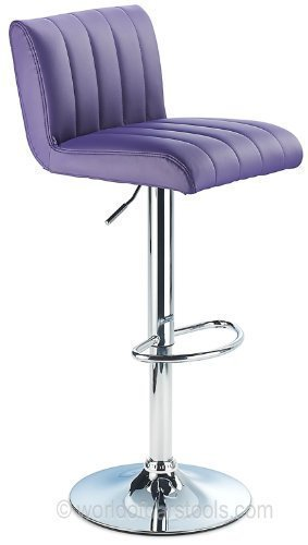 Costantino Sienna Bar Stool Purple