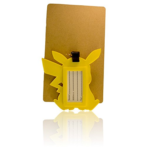 Diyjewelrydepot Tm:yellow Charactor PVC Large Size Luggage Id Tags Travel Accessory