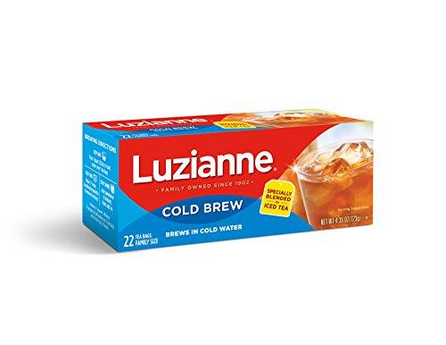 Luzianne Cold Brew Black Tea, 22 Count -