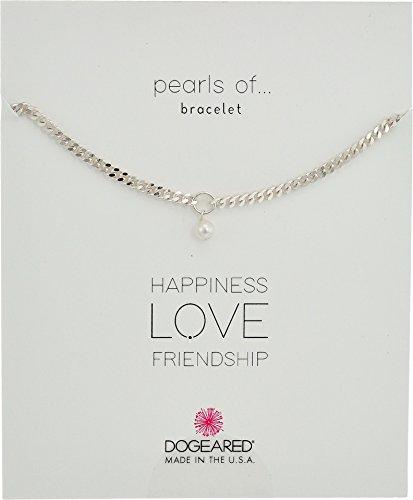 Dogeared Silver Charm Bracelet - 7