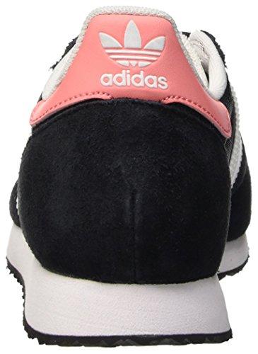 adidas Zx Racer W, Zapatillas de Deporte para Mujer Negro (Negbas / Ftwbla / Rosray)