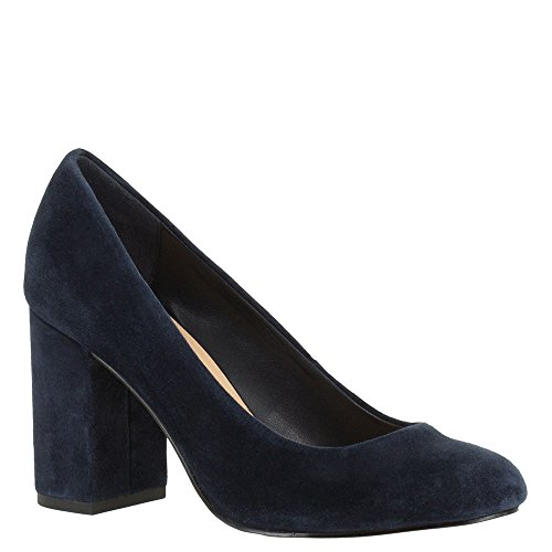 Bella Vita Womens Nara Closed Toe Mary Jane Pumps, Blue, Size 8.0