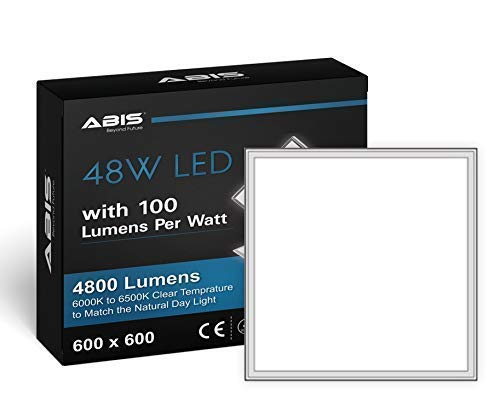 600 Led Ceiling 4 Kits 800lm 6000k 48w Abis With Hanging Panel X Driveramp; LSUMzpqVG