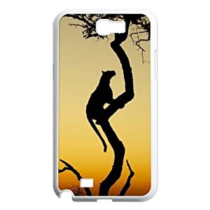 Africa Custom Case for Samsung Galaxy Note 2 N7100, Personalized Africa Case