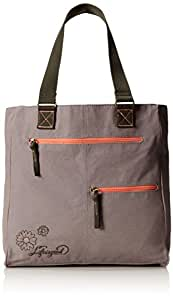 Life is good Carry-all Bag, Winter Gray, One Size