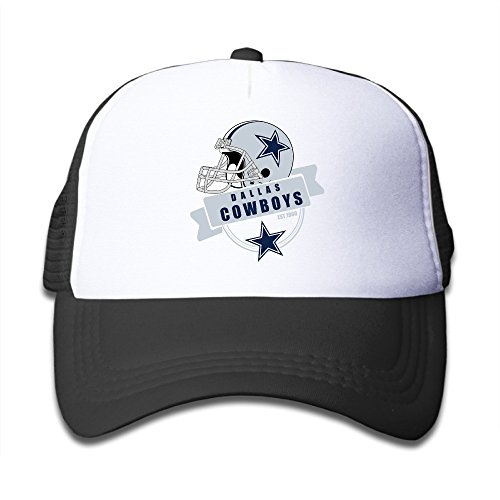 LINNA Kids Boy's & Girl's Dallas Sport Football Logo Cotton Hats Traveler Caps For Outdoor Sports Black. (Samsung Microwave Ring compare prices)