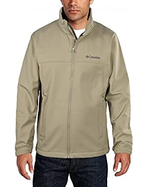 Columbia Sportswear Mt. Village Camel Softshell Full Zip Jacket (Small)