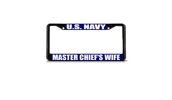 US Navy Alumni Black Metal Frame