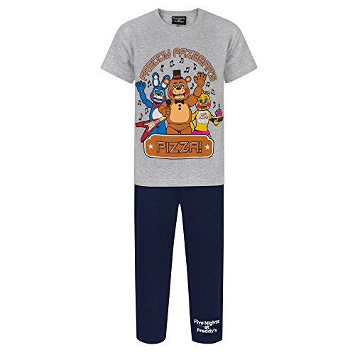 Five Nights At Freddys - Ensemble de pyjama - Garçon Gris/Bleu marine
