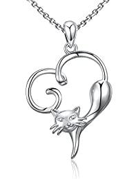 925 Sterling Silver Unique Tree Life Charm Sea Turtle Animal Pig Dog Cat Pendant Necklace Women Girl