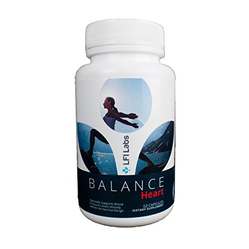 Heartbeat Cholesterol Support - Balance Heart Blood Pressure Supplement — Your Natural Solution to Lowering Your Blood Pressure; Cardiologist Recommended — Maximum Strength; Non-GMO Formula!