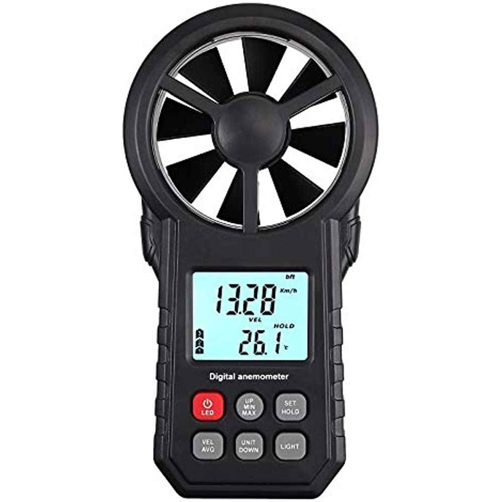 how to measure wind speed without an anemometer