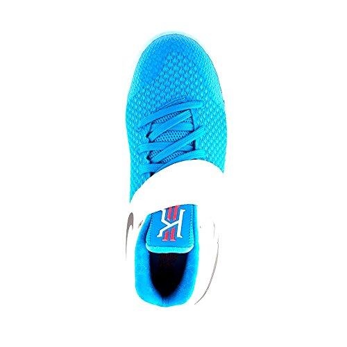 Nike Grade School Jongens Kyrie 2 Basketbalschoenen Wit / Obsidian-bl Lgn-omg Bl