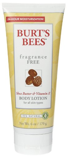 Burt's Bees Shea Butter and Vitamin E Body Lotion - Fragrance Free - 6 oz - 2 pk