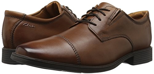 413q3HYlvrL Clarks Men's Tilden Cap Oxford Shoe,Dark Tan,10.5 M US
