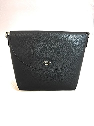 GUESS BORSA Donna T/U 100%PV BOBBI INSIDE OUT XBODY FLAP BLACK STONE