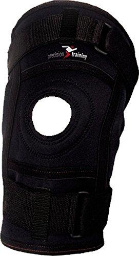 Precision Training en néoprène Sport Bandage Blessures Support genou à charnière en néoprène
