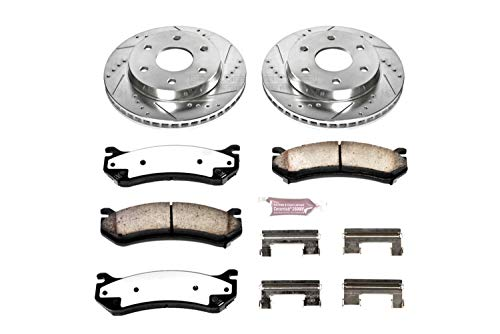 (Power Stop K2009-36 Z36 Truck & Tow Front Brake Kit)