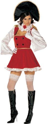 [Sexy Napoleon Costume] (Sexy Halloween Cost)
