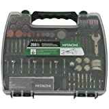 Hitachi 115005 Rotary Tool Accessory Kit, 200-Piece