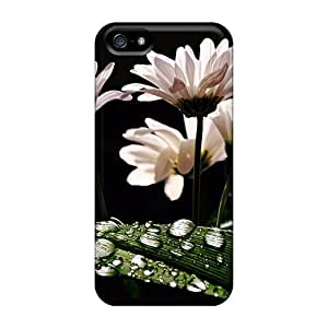 Special Finleymobile77 Skin Cases Covers For Iphone 5/5s, Popular Dark Petals Dew Phone Cases
