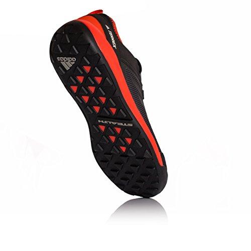 adidas Terrex Swift Solo, Scarpe Sportive Outdoor Uomo Nero (Negbas/Negbas/Energi)