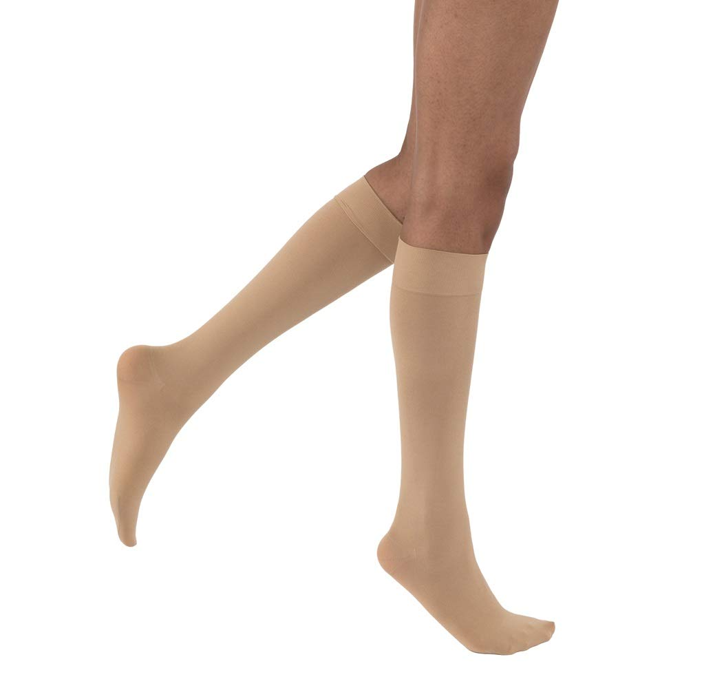 781910d136b Amazon.com  BSN Medical Jobst Opaque Knee High 20-30mmHg Closed Toe ...