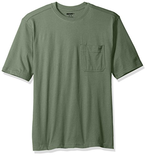 Embroidered Short Sleeve Work Shirt - 6