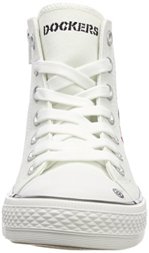 Dockers Multi Mixte by Gerli Basses 40ci603 Sneakers Enfant 710505 Weiss 505 Blanc A4Ar1Zwq