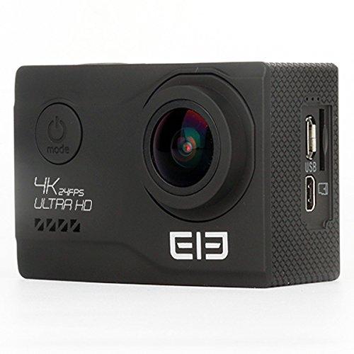 [Elephone Official Store] ELE Explorer Elite NT96660 Sony IMX078 1080P 4K Weitwinkel wasserdichte WIFI ActionKamera Schwarz