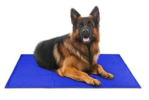 Petpeppy-Self-Cooling-Pressure-Activated-Pet-Bed-with-Free-Pet-Cooling-Collar-Designed-For-Cooling-Overheated-Pets-Non-Toxic-Re-Usable-and-WaterProof-Large