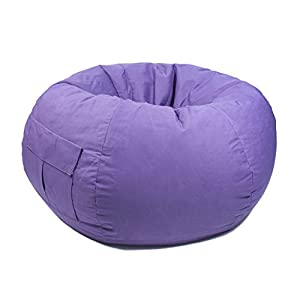 Gold Medal Bean Bags 31012884917 X Large Denim Bag With Pocket Purple