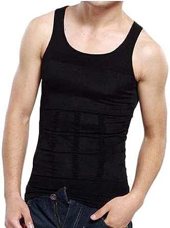 Slim'n Lift Slimming Shirt For Men (black, Xx-large)