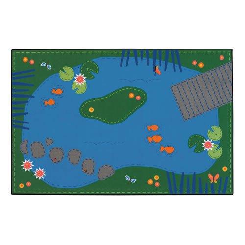 Carpets for Kids 36.06 Tranquil Pond Kid$ Value Rug - 3' x 4'6