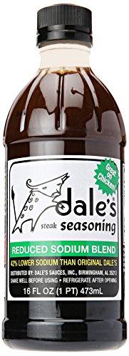 Dales Steak Seasoning, Reduced Sodium Blend, 16 - Road Dale