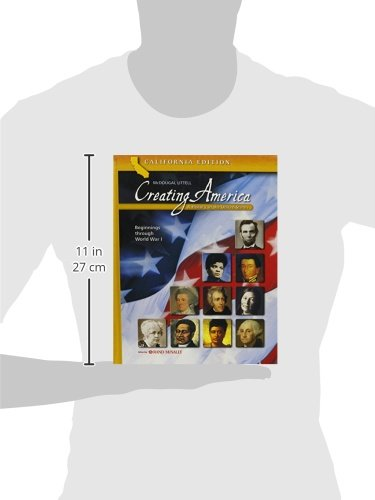 Creating America - California Student Edition: A History of the United States (Beginnings through World War l) by McDougal Littel (Image #2)